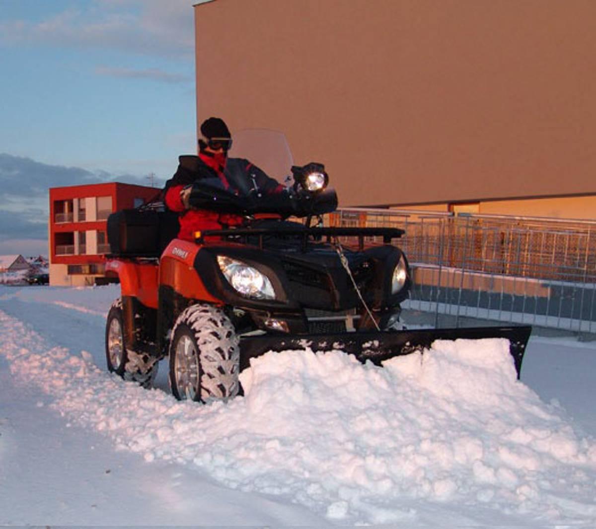 Rykov ATV Snøskjær 140 cm